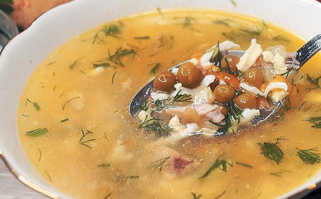 Суп «Снежок»