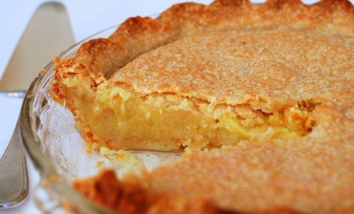 Очень нежный лимонный пирог