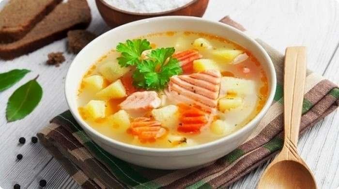Вкуснейший рыбный суп на обед!
