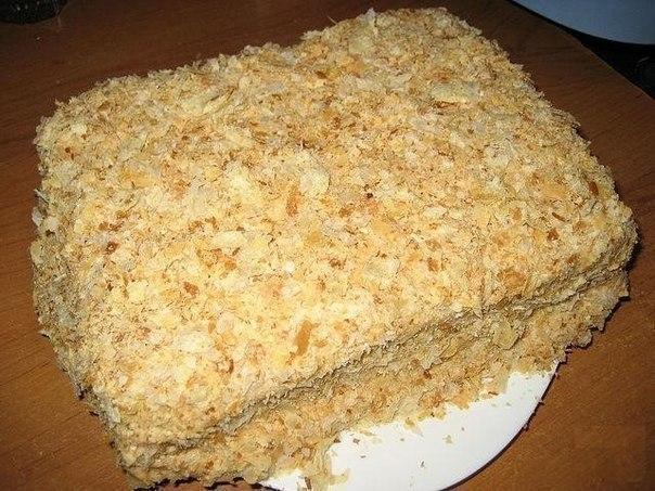 Самый быстрый и вкусный рецепт торта «Наполеон»