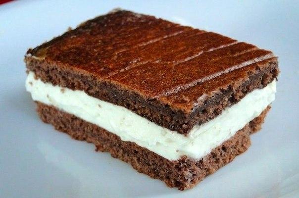 Пирожные «Киндер милк слайс»