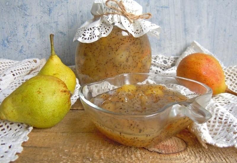 Варенье из груш с маком — очень-очень вкусное