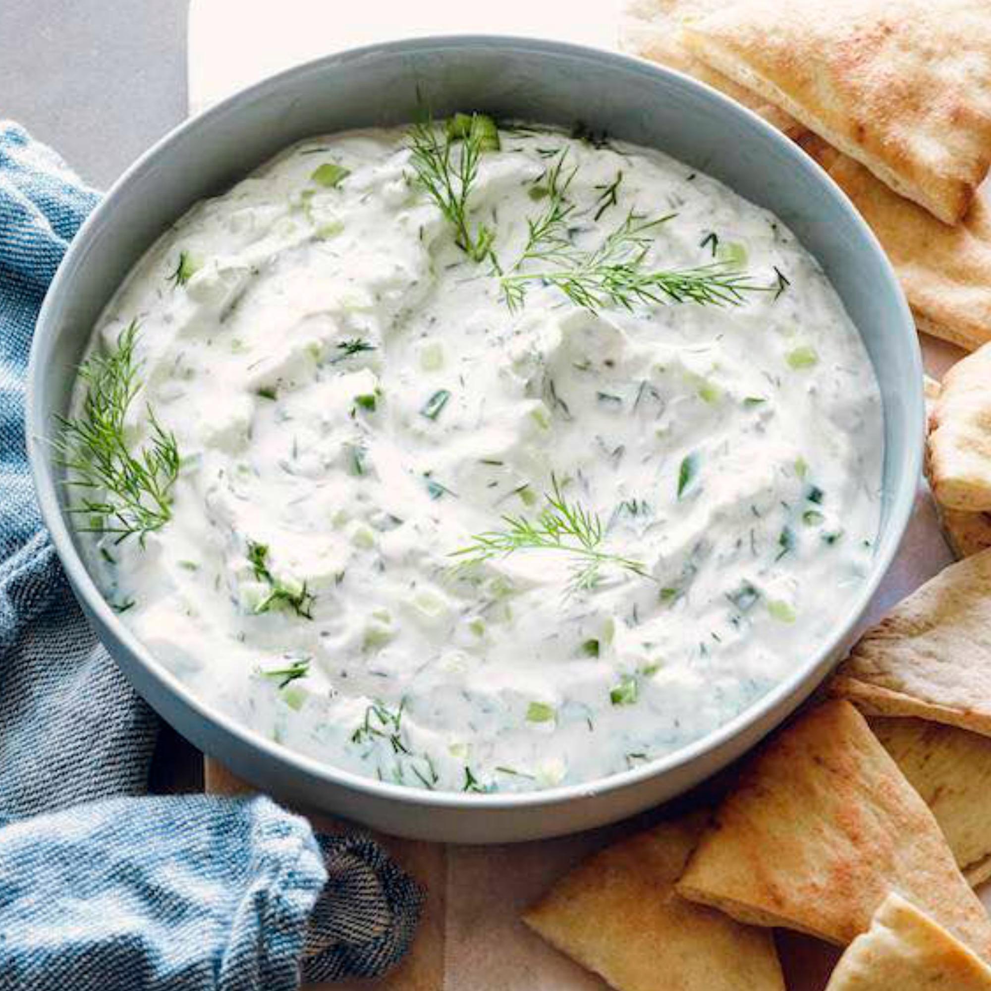 Диетический соус цацики вкуснейший греческий соус в правильном исполнении!