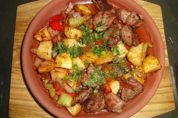 Оджахури со свининой по-грузински