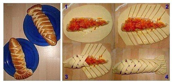 Филе рыбы, запеченное в тесте