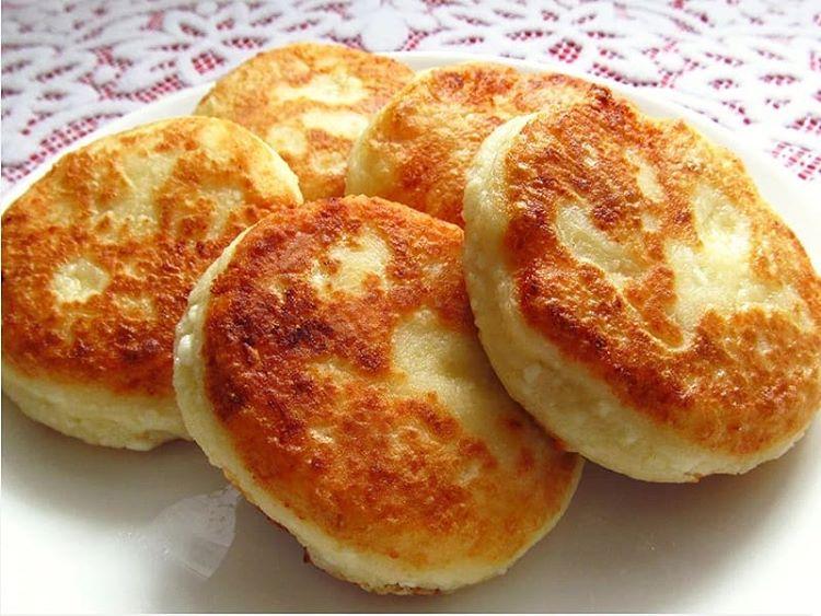 Сырники на молоке. Прекрасная идея завтрака.