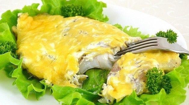 Рыба с сыром