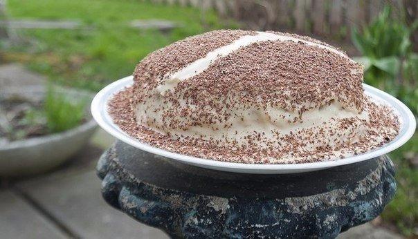 Блинный тирамису-торт
