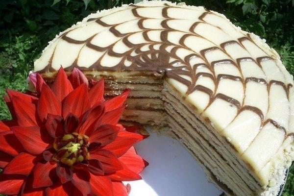 Быстрый торт «Идеальный» на сковороде