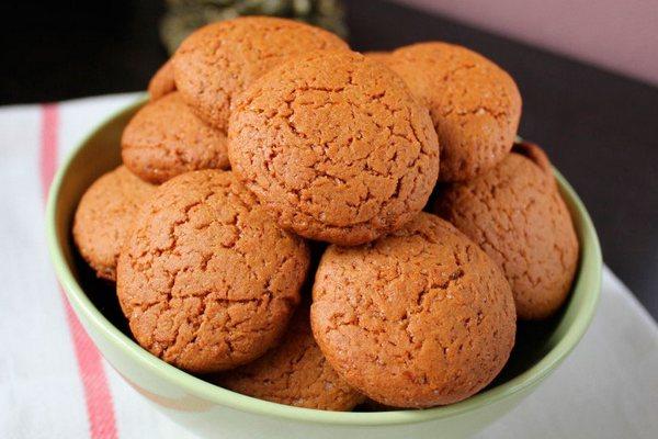 Домашнее овсяное печенье в духовке