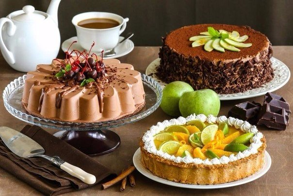 3 песочной основы для тортов, пирогов и тартов(шоколадная, пряная, традиционная).