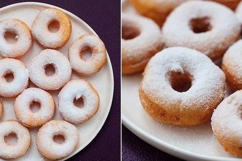 Нежные творожные пончики