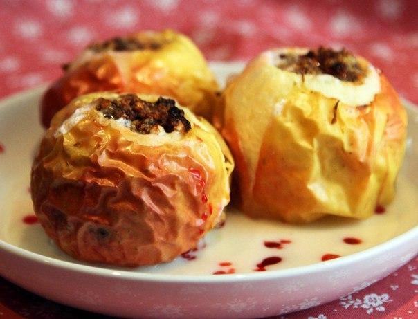 «Яблоки, запеченные с медом»