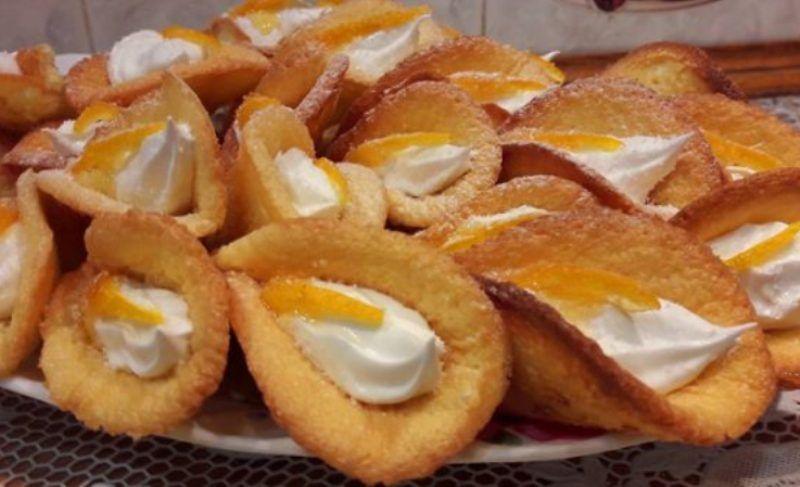 Легкий рецепт вкусного и красивого печенья с кремом