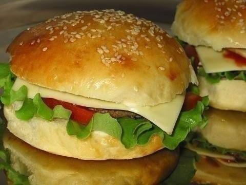 Гамбургеры по-домашнему