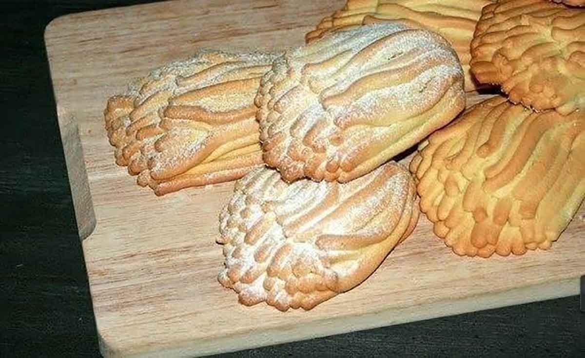 Печенье «Хризантемы» из детства… или печенье «через мясорубку»