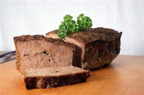 Рулет из куриного мяса и говядины по-американски