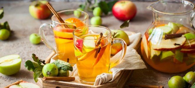 Яблочный сидр без сахара