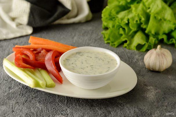 Соус для овощей