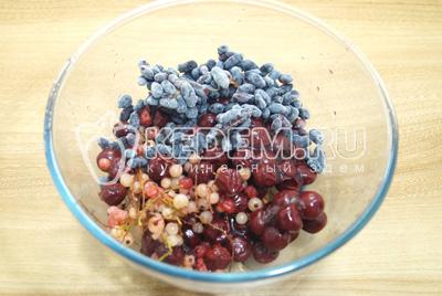 Домашний морс из замороженных ягод