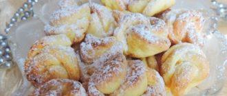 Это вкусное, ароматное и мягкое печенье привлекает уже только своим внешним видом