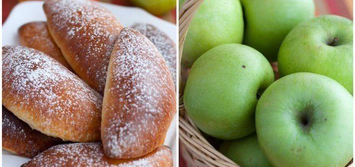 Пышные и румяные, мои любимые пирожки с яблоками. Мягкое творожное тесто и сочная яблочная начинка, идеальный вариант для домашнего чаепития!