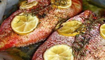 Вкусная рыба в духовке