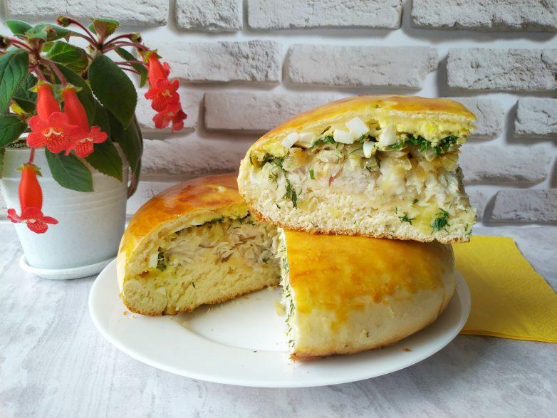 Вкусное тесто, много начинки и рыбный пирог превзойдет ваши ожидания!