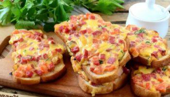 Горячие бутерброды это очень вкусный перекус, который запомнится на долго.