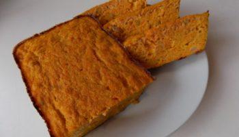 Сладкая запеканка из моркови с изюмом