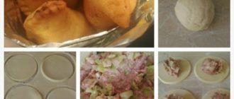 Удивительно простой, но потрясающе вкусный рецепт, тесто заварное!Готовить проще некуда!