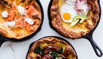 Голландский завтрак: пай с сыром и топпингами