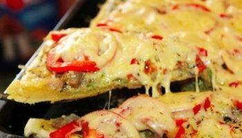 Легкий рецепт простой Пиццы