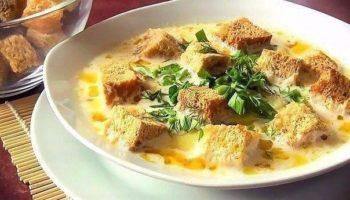 Сырный суп вкуснятина не обыкновенная