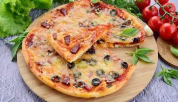 Вкусная и мягкая,легкая по приготовлению Итальянская пицца