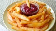 Картофель фри в духовке как в Макдоналдс