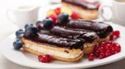 Очень вкусные домашние эклеры вышли советую попробовать всем сладкоежкам