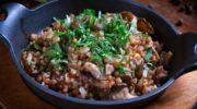 Паэлья из гречки с куриной грудкой или неплохая альтернатива любому блюду из риса