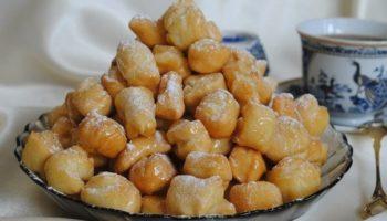 Простой десерт — баурсаки