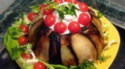 Салат «Баклажаниус» с вешенками