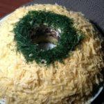 Салат «Новенький» с куриным филе