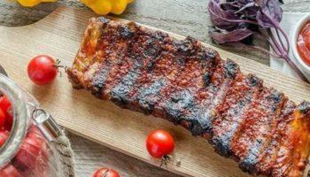 Фишка рецепта – ароматные специи.Свиные ребрышки со смесью перцев в фольге!