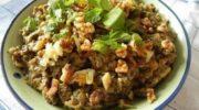 Сытный салат, быстро утоляет чувство голода