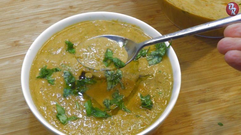 Холодный томатный суп гаспачо, это то, что надо в летнюю жару!