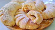 Воздушные булочки с ореховым заварным кремом
