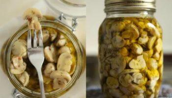 Маринад приготовления домашних маринованных грибочков. Подойдет любой вид грибов!