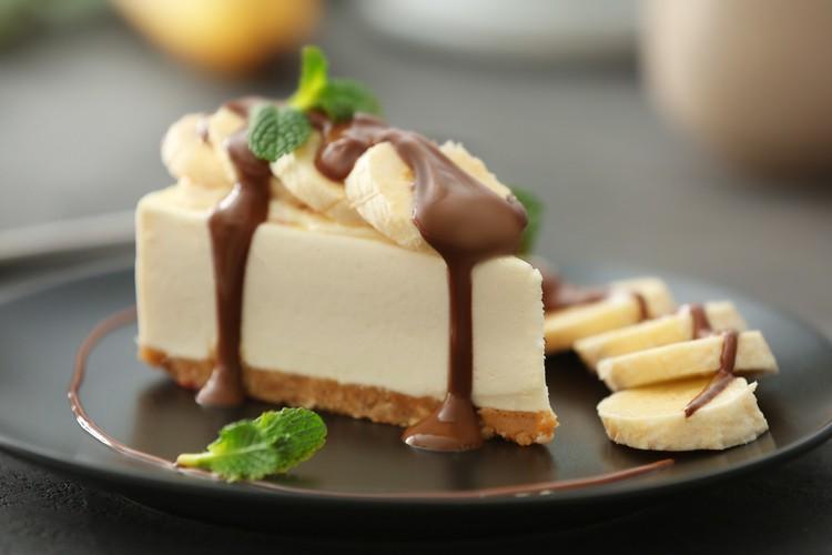 Изумительно вкусный банановый чизкейк без выпечки