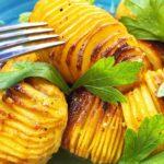 Картофель по-новому с хрустящей корочкой и медовой глазурью - это фантастика!