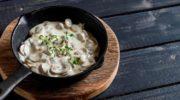 Ароматный сливочно-грибной соус из шампиньонов