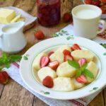 Вкуснейшие ленивые вареники к завтраку